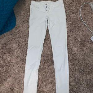 American eagle skinny white jeans
